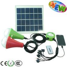 МИНИ солнечной привело систему домашнего освещения для кемпинга/Пешие прогулки/чрезвычайных ситуаций