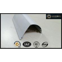 Gl1031 Cortina de alumínio para janela Persianas de rolo para a cabeça do trilho branco