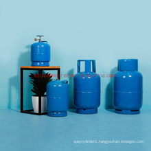 High Pressure Gas Cylinder 10L ISO4706, En1442, HP 295 Material