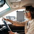 Autofenster-Sonnenschutz - Auto-Rollläden Einziehbarer Sonnenschutz - Autofenster-Sonnenschutz für Baby-Heck- und Seitenfenster Universal 2er-Pack Auto-Sonnenschutz schützt UV