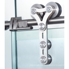 Decorative Factory Made Steel Material Shower Sliding Glass Door Hardware