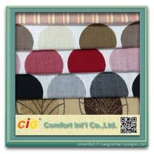 2015 nouveau design vente chaude acrylique polyester chenille rideau tissu