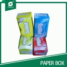 Papierverpackung Karton für Snacks