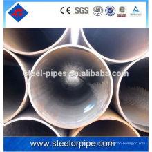 100 mm de diâmetro a53 erw tubo de aço tubo de aço fluido