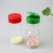 Plastic sal sacudir garrafa com Flip Cap (PPC-PSB-08)