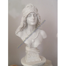 Marble Stone Sculpture Figurine Statue Head Bust (SY-S297)