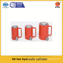 Quality assured piston type 60 ton hydraulic cylinder for lift