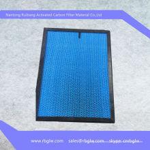 Filtro de ar PP Filtro de papel ondulado