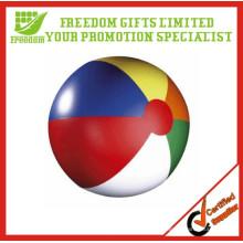 Bolas de playa inflables promocionales del logotipo del PVC promocional