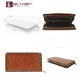 HEC Brand Wholesale Ladies Cell Phone Purse Long Zipper Wallet For Women