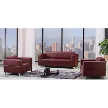 2015 latest leather cheap office sofa design