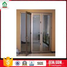 Wanjia novo design dobrável porta de alumínio Wanjia novo design dobrável porta de alumínio