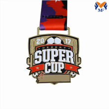 Custom football game soccer cup medals
