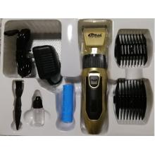 Máquina de cortar cabelo sem corda profissional da bateria de 30W dois