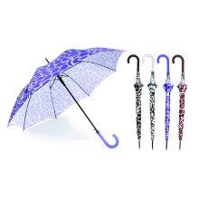 Sraight automatische Wasser-Kräuselungs-Entwurfs-Regenschirm (YS-SA23083924R)