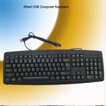 Certificado RoHS CE Teclado USB con cable (KB-1805)
