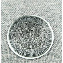 Изготовленная На Заказ Простая Металлическая Антикварные Никеля Pin / Значок