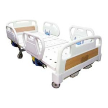 Cama de hospital manual de 2 manivelas en venta