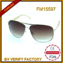 Acheter des lunettes de soleil métalliques avec lentille dégradé en vrac de Wenzhou