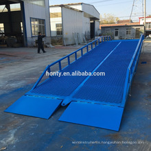 6 ton load 1.8 m mobile electric motorcycle loading yard ramp for sale