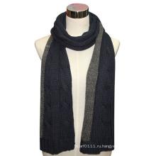 Леди мода долго акрил шерсть вязаный зимний шарф (YKY4330)