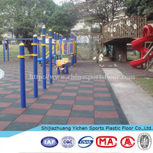 Rubber Driveway Floor Tile For Outdoor Court