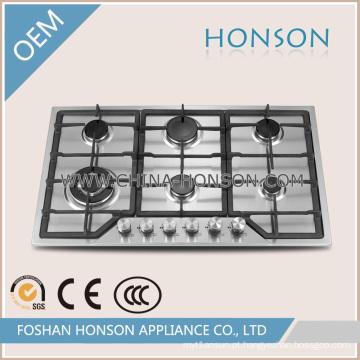De boa qualidade Construído no fogão de gás do fogão do gás para o aparelho eletrodoméstico