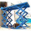 Elevador de carga tipo tesoura hidráulico CE Certificated