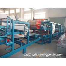 EPS sandwich panel roll forming machine/eps sandwich wall panel