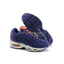 Chaussures de sport comfortables en couleur bleue