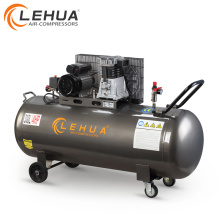 300litre 3kw belt driven piston air compressor for air tools