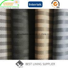 Doublure de jacquard de tissu de doublure de polyester d'hiver de 100 doublures