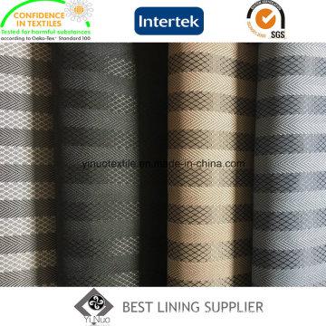 100 Polyester Winter Coat Lining Fabric Jacquard Lining