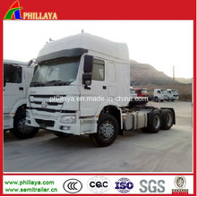 HOWO Tractor Prime Mover Trailer Cargo Truck for Sale