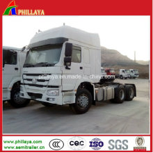 Caminhão da carga do reboque do motor principal do trator de HOWO para a venda