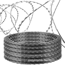 Razor Ribbon Helical Barbed Wire
