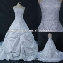2012 новый дизайн реальный образец свадебное платье в магазине