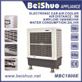 670W Industria Ventilador de refrigeración eléctrico Enfriador de aire 160L Capacidad del tanque de agua Refrigerador de aire evaporativo portátil
