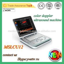MSLCU12M Protable Machine à ultrasons 3D Machine à ultrasons Dopple à la couleur Scanner à ultrasons protable bon marché