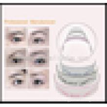 New Arrival Permanent Makeup Plastic Eyebrow Ruler ,Hot Sale U -Type Eyebrow Ruler.