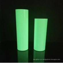 Brilho em filme escuro / fotoluminescente auto-adesivo viny