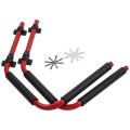 Onefeng Red Aluminum Kayak Storage Rack
