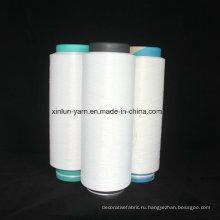 100% полиэстер DTY Необычная пряжа для ручного вязания, ткачества