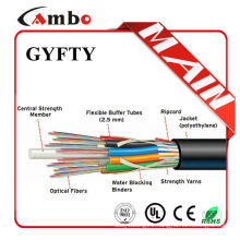 Free samples non-matallic armoured multi pairs SM/MM fibre optic cable installation standards
