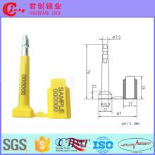 Selo de parafuso de bala mecânico de segurança de recipiente Jc-F007