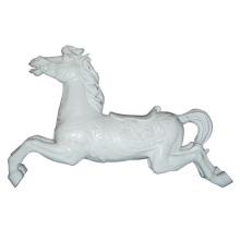 Outdoor Playground Equipment, Fiberglass Carousel Horse (ZC/FA/Horse-01)