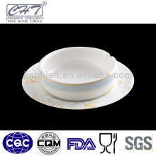 A071 Custom factory direct wholesale ceramic ashtray with design