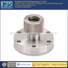 OEM mecanizado ss304 acoplamiento de brida para montaje mecánico de productos