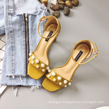 2017 New fashion women sandal high heels shoes lady dress shoes in summer for party wedding