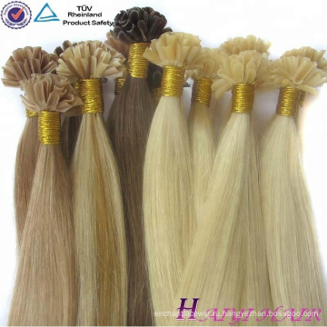 Оптом Алибаба Китайский Поставщик Кутикулы Выровнены Виргинские Волос U Кончик Волос